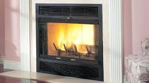 replace broken fireplace glass doors ers alternative insert door handles insulation
