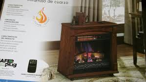 2 of 7 handyman chimneyfree rolling mantel with infrared quartz electric fireplace