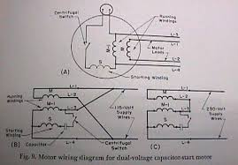 wiring diagram for 230 volt 1 phase motor the wiring diagram dual voltage single phase motor wiring diagram nodasystech wiring diagram