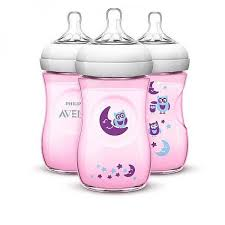 Avent Decorated Bottles Avent BPA Free 100 Pack 100oz Decorated Natural Bottle ForestOwls 17