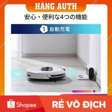 MARIA OZAWA CŨNG DÙNG] Robot hút bụi lau nhà :Hãng sản xuất IRIS OHYAMA  IC-R01 hàng nội địa nhật