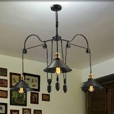 vintage industrial lamp inspirational loft style vintage industrial lighting pulley pendant lights 3 lamps