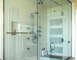 steam shower doors enclosures and can you clean how to glass with hard water stains naturally clean shower door