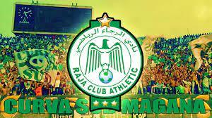 شعار نادي الرجاء البيضاوي المغربي يتفوق على ريال مدريد - Beider Media