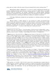 electronic communications and open meeting laws 5