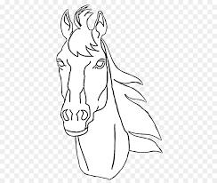 pony american quarter horse horses ponies coloring book horse head mask horse head