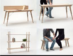 functional furniture design. table shelf bench desk functional furniture design e