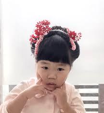 七五三で日本髪3歳 Biquette Hair