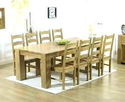 round dining tables for 8 dining table and 8 chairs table and 8 chairs big round