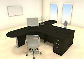 t shaped office desk. Delighful Shaped Two Person Office Desks T Shaped Desk For People 2 Corner  With I