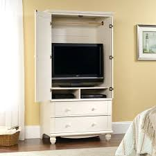 tv armoire with drawers white tv armoire with drawers