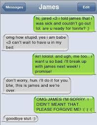 Worst Break Up Texts | 20 Hilarious Break Up Texts | SMOSH | Break ... via Relatably.com