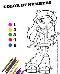 Small Picture Color Coded Coloring Pages Free Printable Color Number Coloring