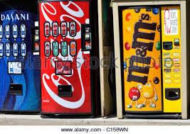Vending Machine Theft Prevention Inspiration Vending Machines With CocaCola And Dasani Water Drinks With Stock