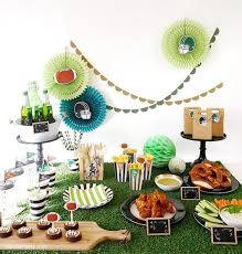 Cheap Super Bowl Decorations Super Bowl Birthday Party Printables Supplies Decor BirdsParty 48
