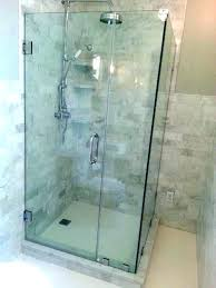 frameless glass shower walls glass shower wall panels enclosures cost com with regard to stalls doors