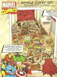 marvel comics heroes reversible single duvet cover bedding setcomic book double covers comic superhero duvet cover set