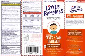 Little Remedies Childrens Fever Pain Reliever