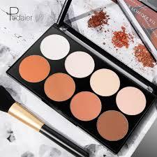 face makeup 8 color contour powder kit make up corrector bronzer highlighter palette skin foundation brighten concealer