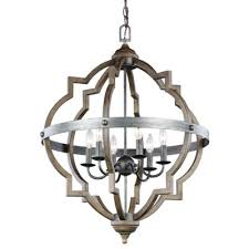 beautiful rustic chandelier socorro 6 light foyer chandelier