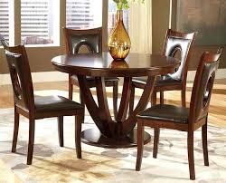 solid wood 5 piece dining set excellent stylist ideas round wood dining table set kitchen 5