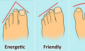 Here Are 13 Types Of Toes And The Fascinating Clues They