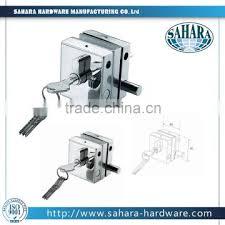 ft 55 2l sliding glass door lock without handle double door slide lock