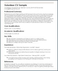 Resume Examples Volunteer Work Best Of How To Explain Volunteer Work On Resume Igniteresumes