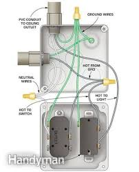 27 best electric images on pinterest electrical wiring Fan Wiring To Electrical Power Outlet how to wire a finished garage electrical workelectrical projectsoutdoor outletfinished Residential Electrical Wiring Diagrams