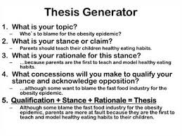 How To Write A Thesis Statement For A Essay Major