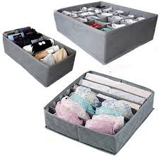 3 Pcs, 24-Cell, 7-Cell, 6-Cell Underwear Socks