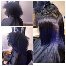Pink Black Hair Studio Natural Hair