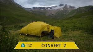 Sierra Designs Convert 3 Tent Sierra Designs Convert 2 Tent Review