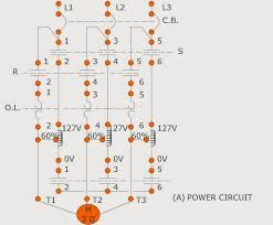auto transformer reduce voltage starter motor control operation Auto Transformer Wiring (a) power circuit of the \u201cauto transformer reduce voltage starter\u201d auto transformer wiring diagram