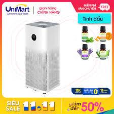 QUÀ TẶNG KHỦNG} Máy lọc không khí Xiaomi Mi Air Purifier - Tặng ngay 1 máy  phun sương nhỏ - UniMart tại Hà Nội