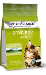 Grain Free Kitten Food From Arden Grange