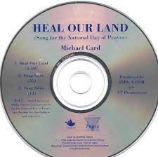Michael card the basin and the towel play sample the basin and the towel. Michael Card Heal Our Land Song For The National Day Of Prayer 1993 Cd Discogs