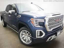 New 2019 GMC Sierra 1500 Truck Crew Cab Denali Pacific Blue For ...
