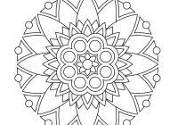 De Stress Coloring Pages For Kids With These Printable Mandala And