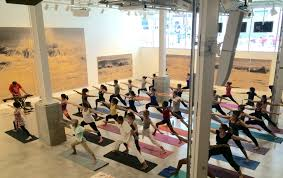 start your weekend off on a mellow foot with yoga and live at bric on