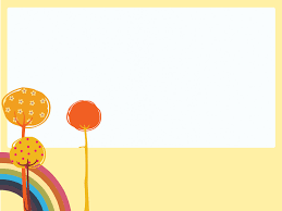 Kids Powerpoint Background Rainbow And Trees Powerpoint Templates Nature Free Ppt