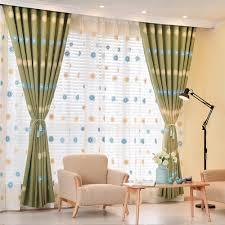 Für Zimmer Vorhang Fenster Bestickte Vorhänge Kurz Mädchen Vorhang