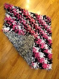 No tie fleece patch blanket 52x60 | Fleece Tie Blanket Ideas ... & No sew fleece tie quilt Adamdwight.com
