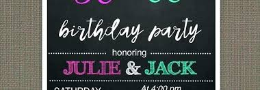 Birthday Celebration Invitation Template Invitations