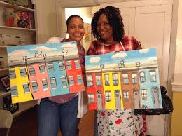 paint party features a local art teacher artist who will teach and show patrons how to paint their own masterpiece our gallery provides all painting