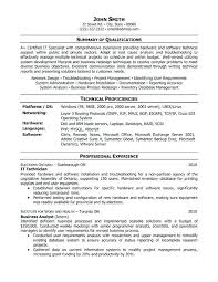 Support Technician Resume It Technician Resume Template Want Download Tech Company