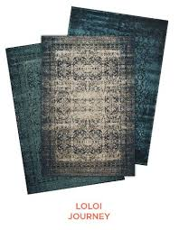 decorating with overdyed rugs