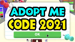 Maybe you would like to learn more about one of these? Adopt Me Codes 2021 The New Codes For Adopt Me Roblox 2021 Youtube