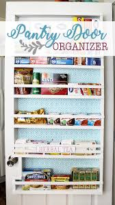 build your own affordable pantry door organizer with some wood and a few basic tools