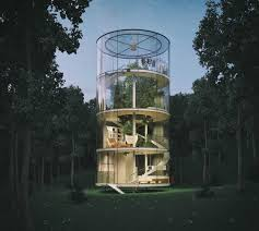 tree house designs. View In Gallery. Tranquil Treehouse Tree House Designs